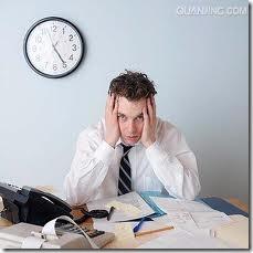 工作压力的问题