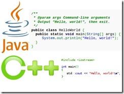 C++程序员和Java程序员的差异